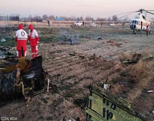 بالصور والفيديو ..تحطم طائرة ركاب أوكرانية فوق إيران ومقتل جميع الركاب