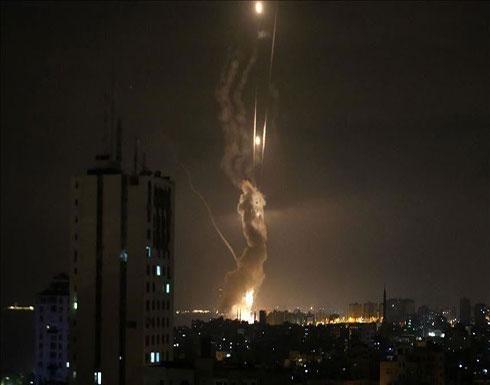 """الجيش الإسرائيلي يقصف موقعين لـ""""حماس"""" شمالي غزة"""