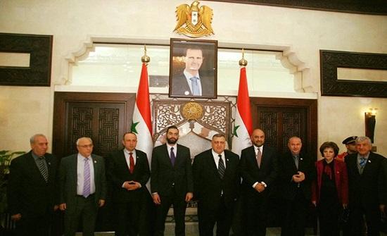 الصباغ يتعهد بحل مشكلة السجناء الأردنيين في سوريا