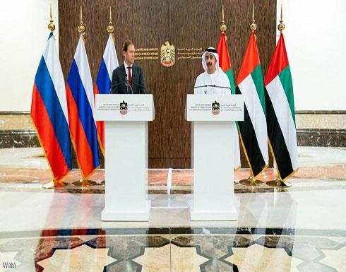 عبد الله بن زايد يترأس أعمال اللجنة الإماراتية الروسية