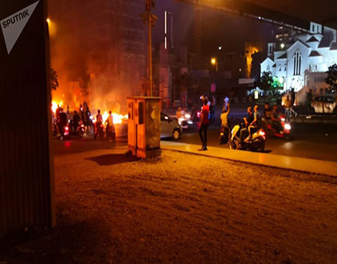 بالفيديو... دراجات نارية تشارك في مظاهرات لبنان