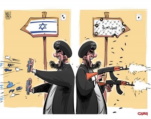 إيران تستهدف الدول العربية بدل إسرائيل