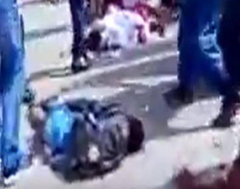 مشاهد صادمة.. جثث تلاميذ بحادث دهس في الجزائر
