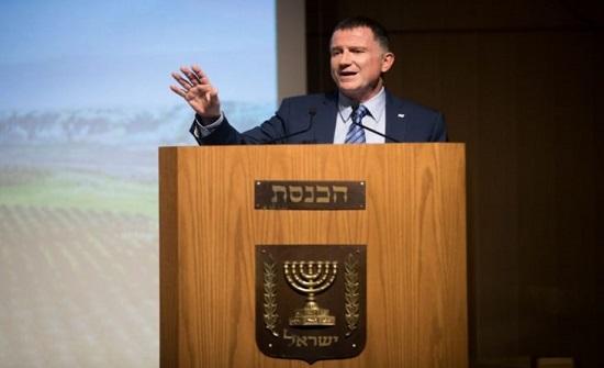 رئيس الكنيست الإسرائيلي: حل الدولتين عفا عليه الزمن