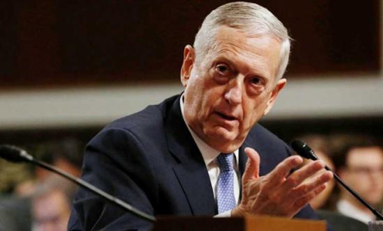 ماتيس يريد من حلفاء الاطلسي المساهمة في دعم حكومة أفغانستان