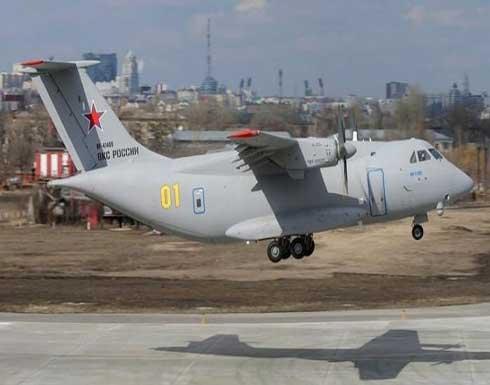بالفيديو: مقتل 3 عسكريين في تحطم طائرة روسية