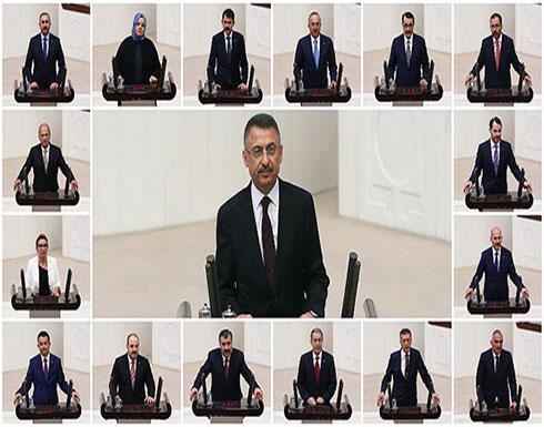 حكومة أردوغان تؤدي اليمين الدستورية