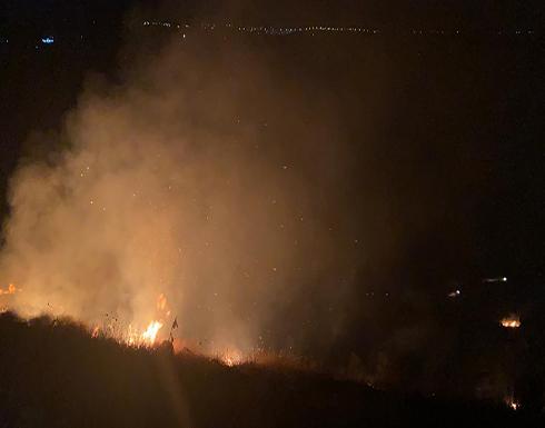 فيديو : شاهد لحظة انفجار القذيفة السورية في مدينة ام قيس الاردنية