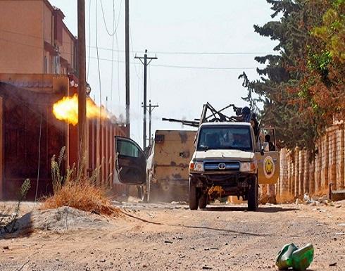 """الجيش الليبي يهاجم أهدافا لحفتر في """"الوطية"""" وجنوبي طرابلس"""
