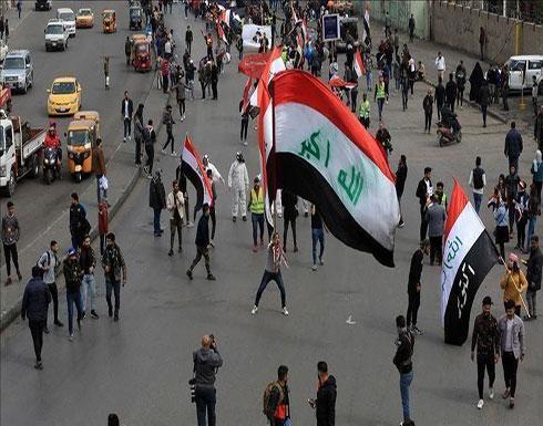 بالفيديو : إصابة 5 متظاهرين في تجدد للاشتباكات مع قوات الأمن في بغداد