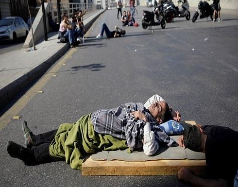 محتجو لبنان يقطعون كل الطرقات الرئيسية ودعوات للاعتصام أمام البرلمان