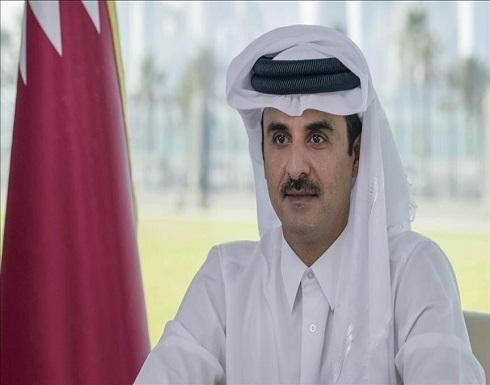 أمير قطر يبحث مع وزير خارجية فرنسا تطورات الأوضاع في أفغانستان