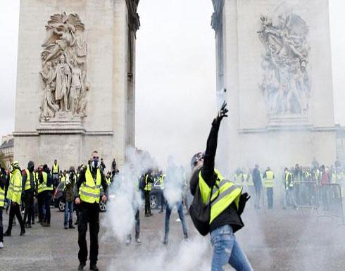 """رئيس وزراء فرنسا """"مصدوم"""".. ويعد بالتصدي لأعمال التخريب"""