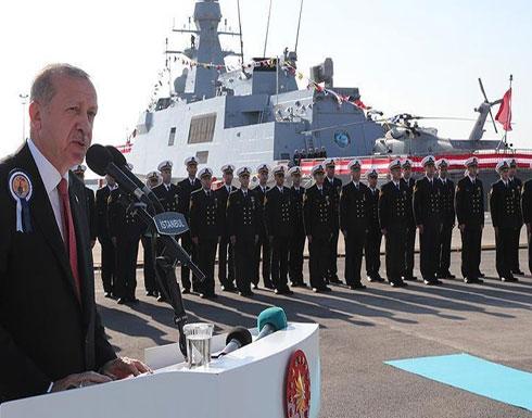 أردوغان: لن نسمح للآخرين بالتنقيب عن الغاز في شمال قبرص