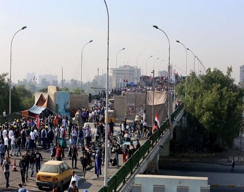 احتجاجات العراق.. إصابات وإغلاق طرق وتوقف تصدير النفط