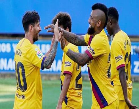 """بعد خسارته لقب """"الليغا"""".. برشلونة يصب جام غضبه على ألافيس في ختام مشواره بالدوري"""