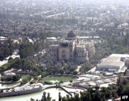 مصدر : صاروخ يصيب السفارة الأمريكية في بغداد