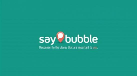 تطبيق Saybubble لمشاركة الأحداث والأخبار وفقاً للموقع الجغرافي