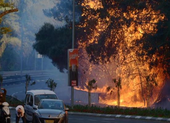 هآرتس: حرائق إسرائيل اختبار لمدى استعدادها للحرب