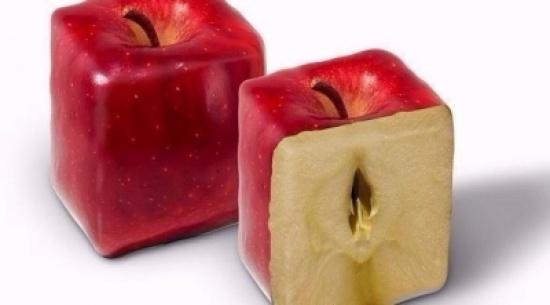 بالصور: شركة زراعية صينية تنتج فاكهة بأشكال غير تقليدية