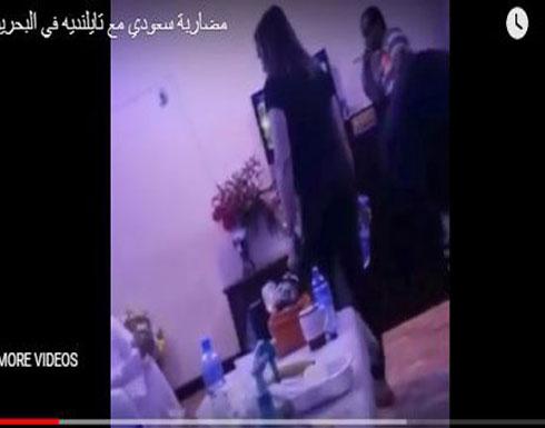 فتيات يلقن شابا «علقة ساخنة» (فيديو)