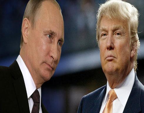 بوتين يعلن انه تشاور مع ترامب الاثنين في النزاع بين اسرائيل والفلسطينيين