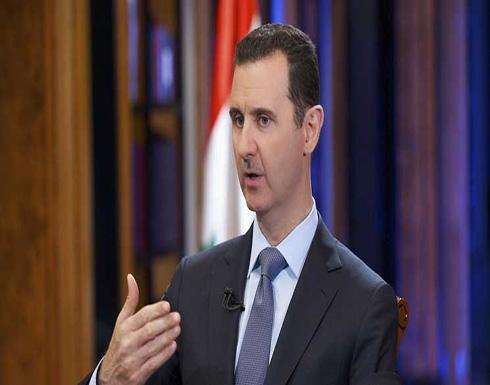 الأسد يتلقى رسالة من العبادي بخصوص التنسيق العسكري مع العراق