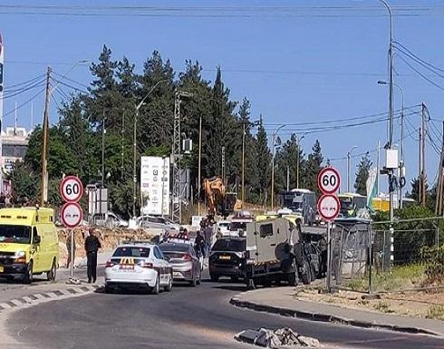 الاحتلال يصيب فتاة فلسطينية قرب بيت لحم بزعم محاولة طعن