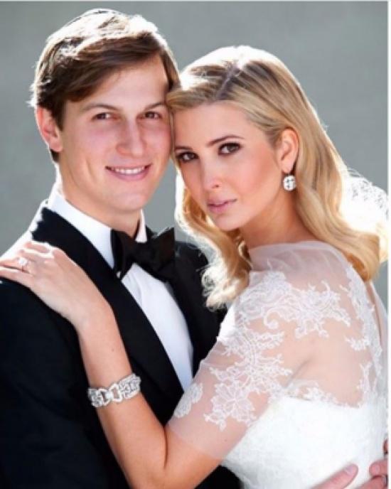 إيفانكا ترامب تحتفل بعيد ميلاد زوجها برسالة رومنسية