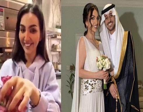 """هبة الحسين وعايض يوسف بفيديو يثير الجدل.. والجمهور """"الحُمرة خربت""""!"""