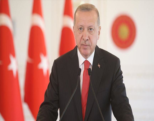 أردوغان: رفعنا إنتاج الكهرباء من المصادر المتجددة إلى 66%