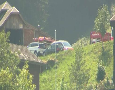 فيديو : يوم كارثي في سويسرا.. تحطم طائرتين بفارق ساعات