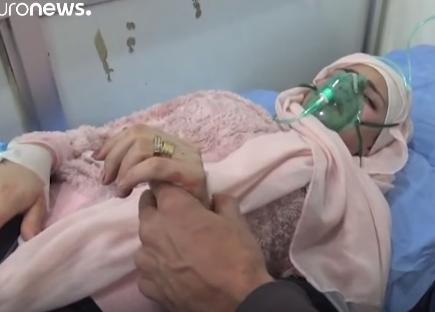 شاهد .. روسيا تقول إن مقاتلي المعارضة أطلقوا قذائف بغاز الكلور على حلب