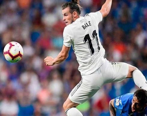 بيل يتألق في فوز سهل لريال مدريد على خيتافي