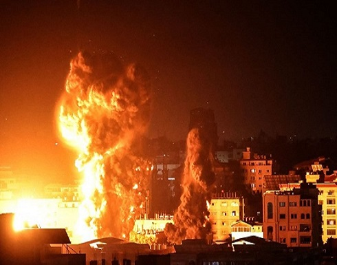 الاحتلال يشن غارات ليلية عنيفة في قطاع غزة (شاهد)