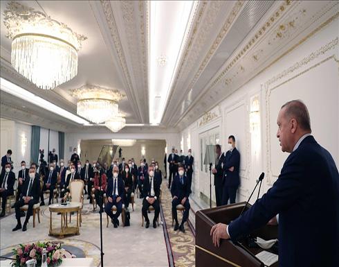 أردوغان: سنجعل من تركيا لاعبا مهما في النظام العالمي الجديد