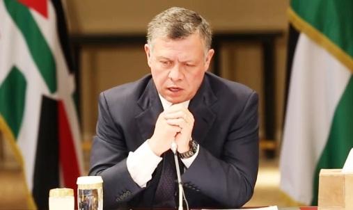 الأردن : الملك يتابع  تفاصيل العملية الأمنية للقبض على مرتكب جريمة الزرقاء