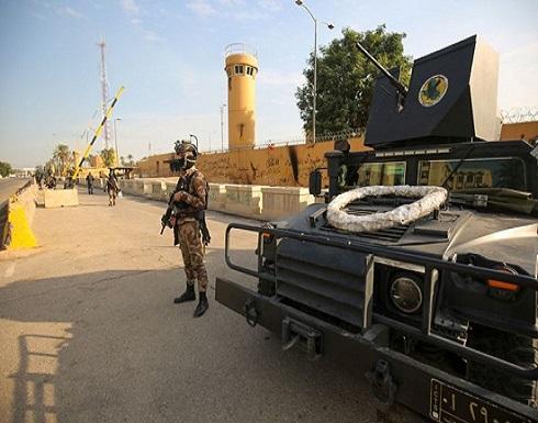 هجوم يستهدف المنطقة الخضراء قرب سفارة واشنطن ببغداد