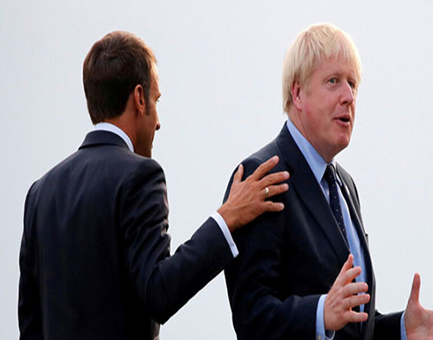 """ماكرون يطالب جونسون بتوضيح موقف بريطانيا من """"بريكست"""""""