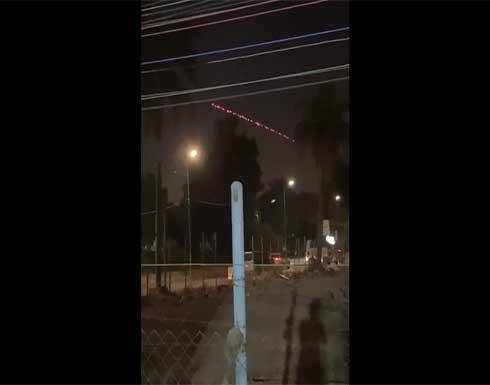 إطلاق صافرات الإنذار في السفارة الأمريكية ببغداد وإسقاط طائرة مسيرة .. بالفيديو