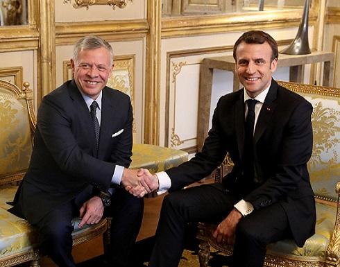 القضية الفلسطينية والقدس تتصدر مباحثات الملك والرئيس الفرنسي في باريس