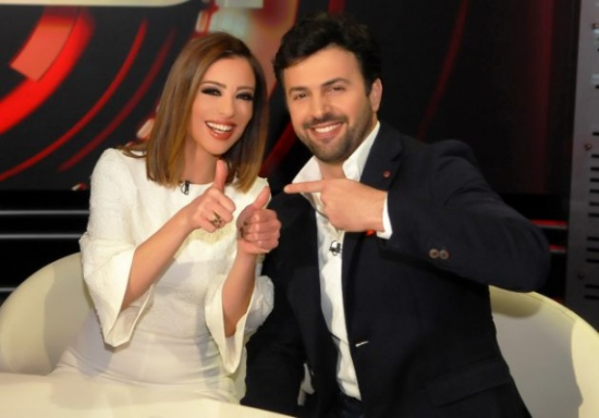 أمل حجازي لوفاء الكيلاني: مبروك لصهرنا