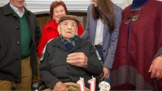وفاة أكبر معمّر في العالم عن عمر يناهز 113 عاماً