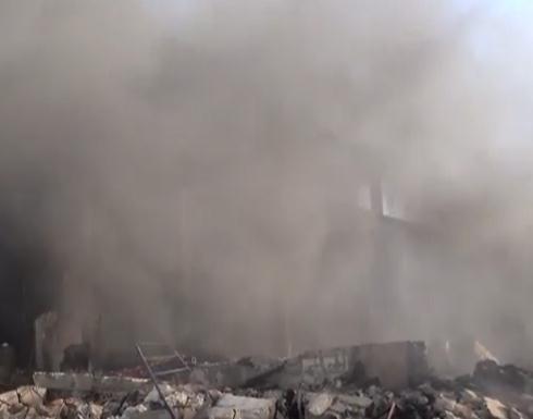 بالفيديو: تدمير معامل الدواء في حلب