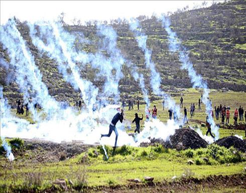 شهيدة وإصابة 10 متظاهرين فلسطينيين بالرصاص وقنابل الغاز شرقي غزة