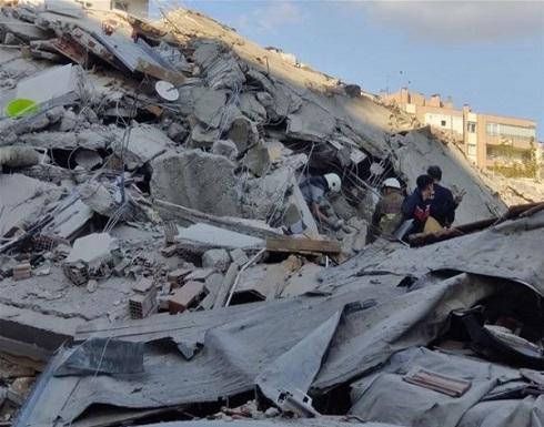 زلزال ضرب ولاية إزمير التركية .. شاهد عمليات الانقاذ لحظة بلحظة