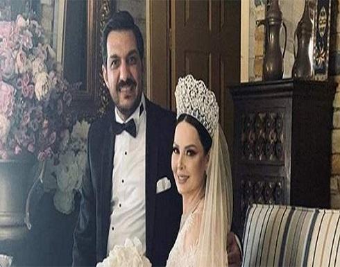 ديانا كرزون وزوجها يقضيان شهر عسل حالم في حمامات ماعين