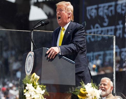 ترمب يعلن عن صفقة سلاح بقيمة 3 مليارات دولار مع الهند