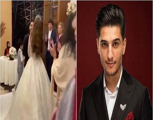 صورتان تكشفان ملامح وجه عروس محمد عساف.. من الحقيقية؟