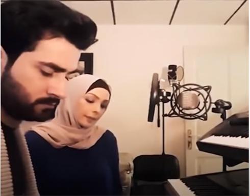 """شاهد : امل حجازي تنشد """" السلام عليك يارسول الله """" بصوت رائع"""